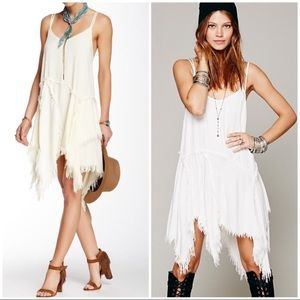 Free people intimately tuttered up slip dress XS S